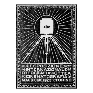 1923 Turin Photo Expo Poster