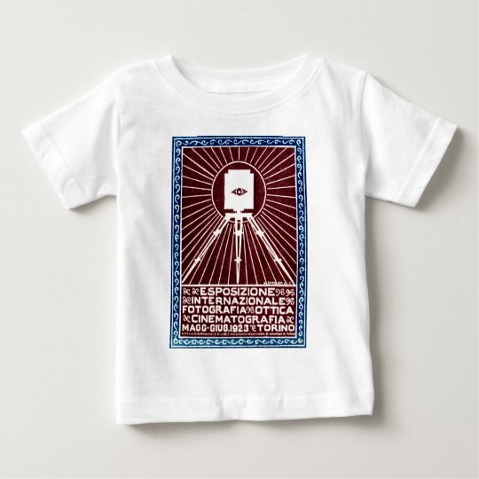 1923 Turin Photo Expo Poster Baby T-Shirt