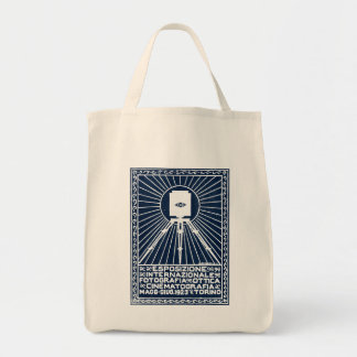 1923 Turin Photo Expo Poster Bags