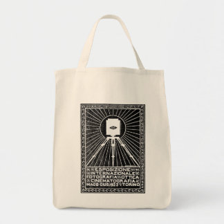 1923 Turin Photo Expo Poster Tote Bags