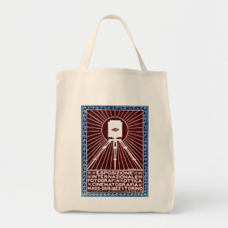 1923 Turin Photo Expo Poster Bag