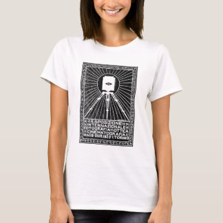 1923 Turin Photo Expo Poster T-Shirt