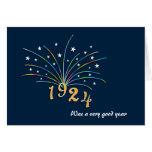 1924 A Very Good Year 91st Birthday Greeting Card