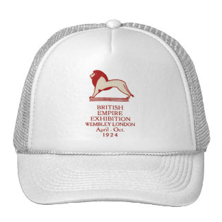 1924 British Empire Exhibition Poster Trucker Hat