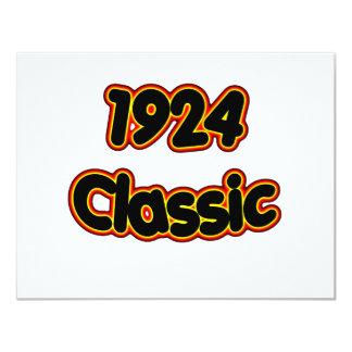 1924 Classic 4.25x5.5 Paper Invitation Card