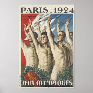 1924 Juegos Olímpicos de Verano Póster