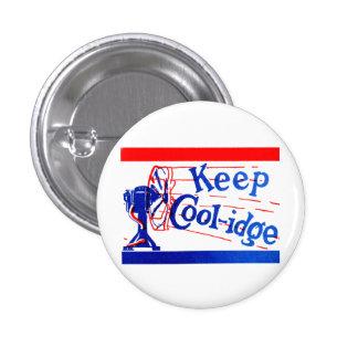 1924 Keep Coolidge Pinback Button