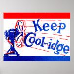 1924 Keep Coolidge Print