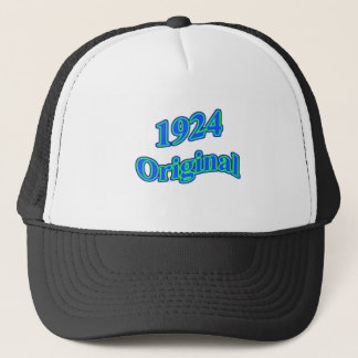 1924 Original Blue Green Trucker Hat