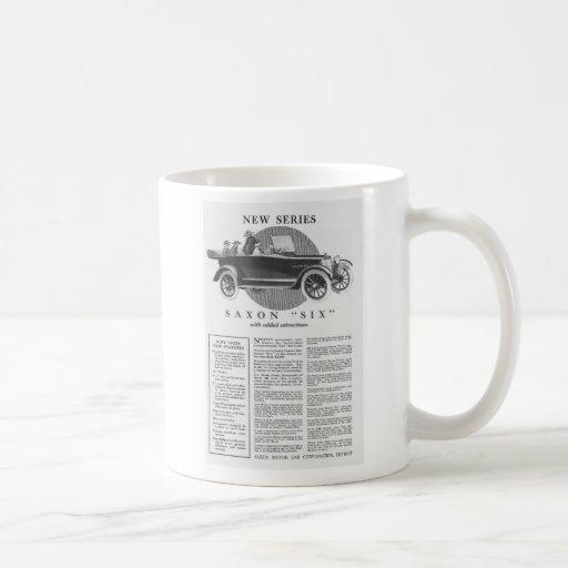 1924 vintage titled windshield automobile ad coffee mug