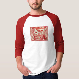 1925 30gr Polish Airmail Stamp T-Shirt
