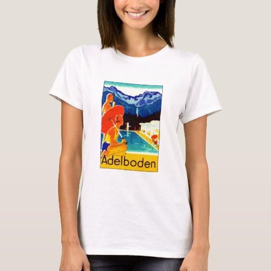 1925 Adelboden Switzerland Poster T-Shirt