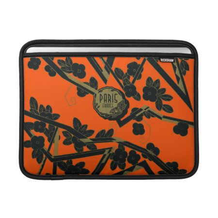 1925 Art Deco Paris France Perfume Macbook Sleeve