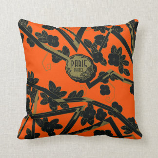1925 Art Deco Paris France perfume Throw Pillow