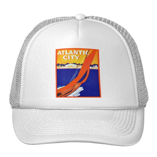1925 Atlantic City Trucker Hat
