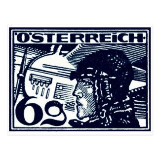 1925 Austrian Air Mail Postcard