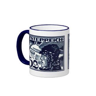 1925 Austrian Air Mail Ringer Mug