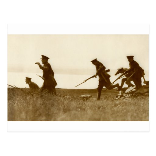 1925  Bayonet Charge Post Cards