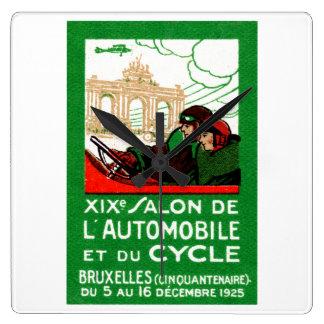 1925 Brussels Automotive Exposition Clock