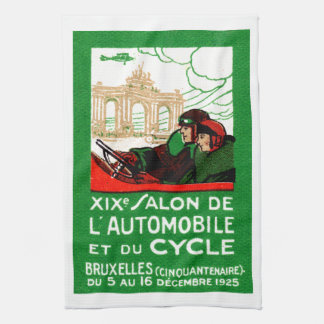 1925 Brussels Automotive Exposition Hand Towel