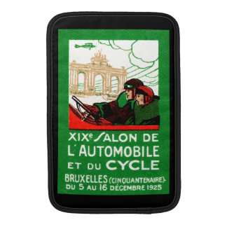 1925 Brussels Automotive Exposition Sleeves For MacBook Air