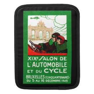 1925 Brussels Automotive Exposition Sleeves For iPads
