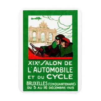 1925 Brussels Automotive Exposition Rectangle Magnet