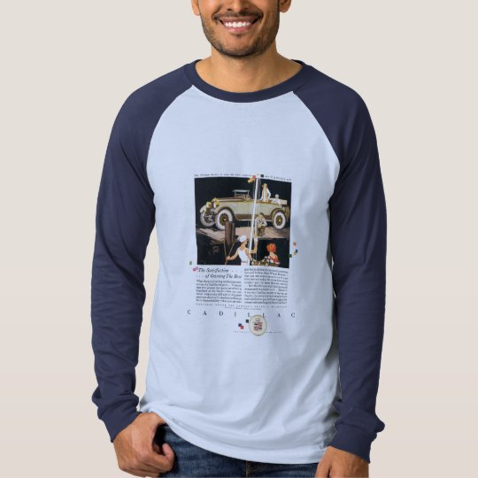1925 Cadillac Ad Boating Pier Own The Best T-Shirt