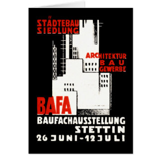 1925 Construction Exposition Poster Cards