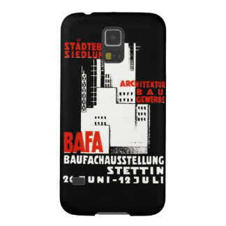 1925 Construction Exposition Poster Galaxy S5 Cover