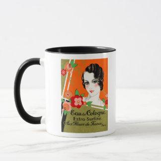 1925 Flowers of France Perfume Mug