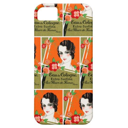 1925 Flowers of Paris France Perfume iPhone SE/5/5s Case