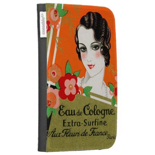 1925 Flowers of Paris France Perfume Kindle Covers