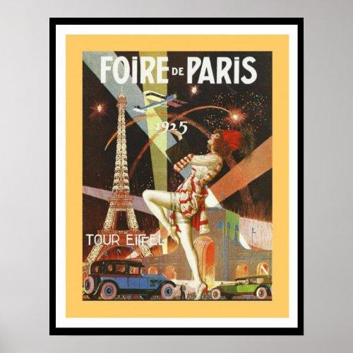 1925 Foire De Paris Poster 16 x 20