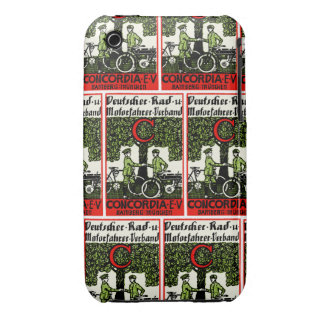 1925 German Bicycle and Motorcycle Club iPhone 3 Case