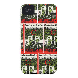 1925 German Bicycle and Motorcycle Club iPhone 4 Case-Mate Case