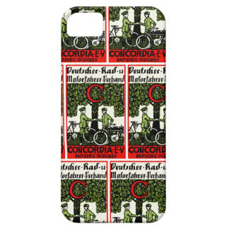 1925 German Bicycle and Motorcycle Club iPhone SE/5/5s Case