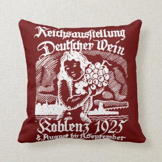 1925 German Wine Festival Pillow