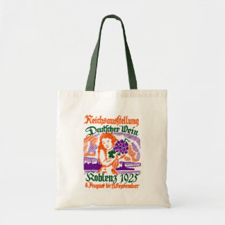 1925 German Wine Festival Tote Bag