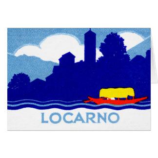 1925 Locarno Switzerland Card