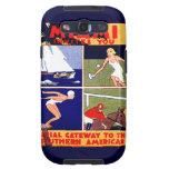 1925 Miami Travel Poster Galaxy S3 Cases