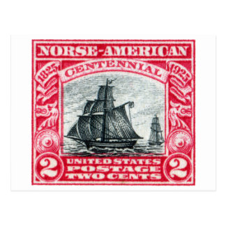 1925  Norse American Stamp Post Cards