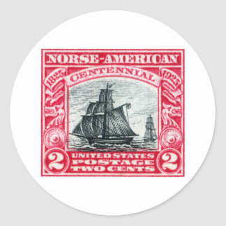 1925  Norse American Stamp Stickers