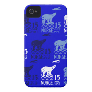 1925 Norwegian Polar Bear Case-Mate iPhone 4 Case