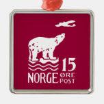1925 Norwegian Polar Bear Christmas Tree Ornament