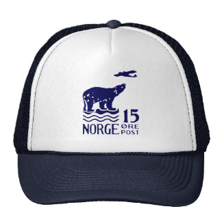 1925 Norwegian Polar Bear Hat