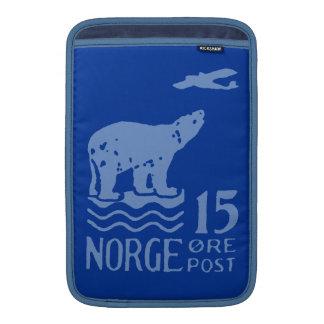 1925 Norwegian Polar Bear MacBook Sleeve
