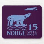 1925 Norwegian Polar Bear Mouse Pad