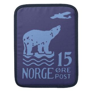 1925 Norwegian Polar Bear Sleeves For iPads