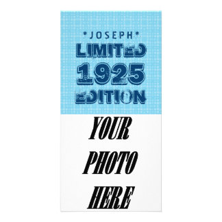 1925 or Any Year Birthday Limited Edition V01Z Photo Card